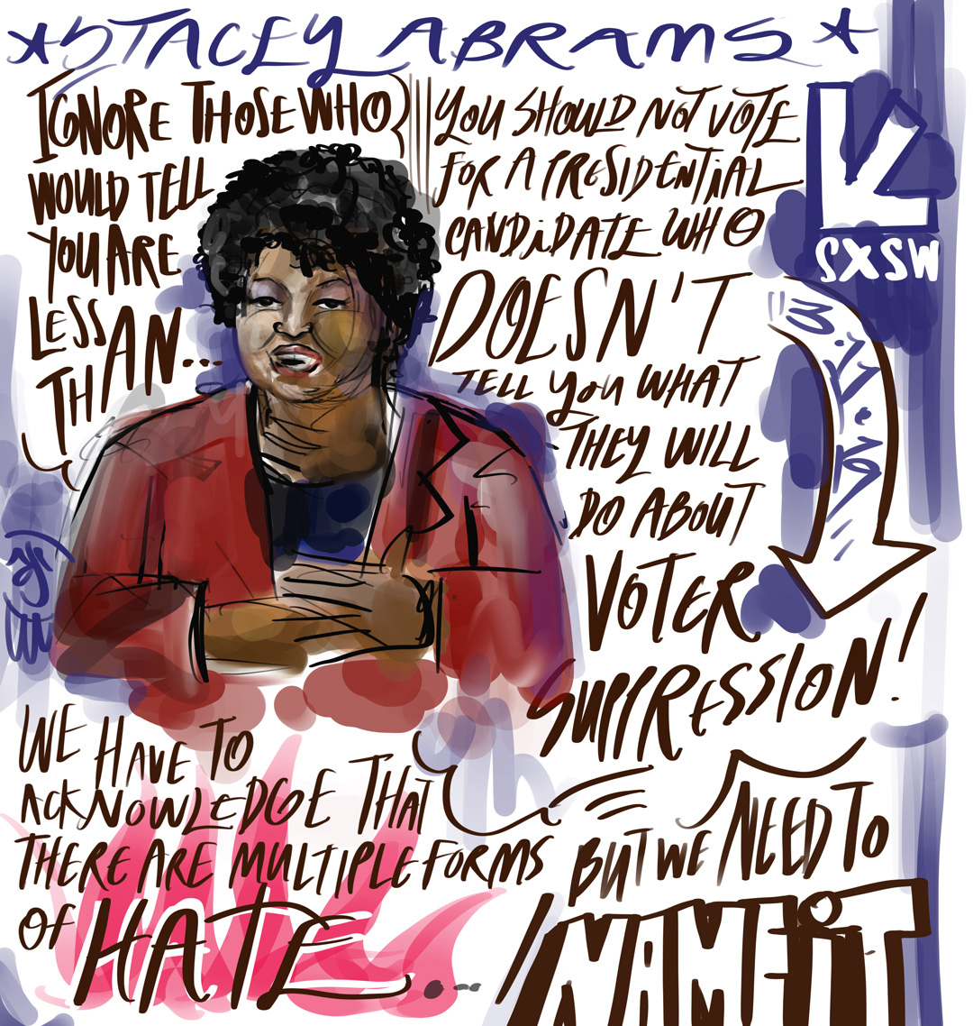 Stacey Abrams at SXSW 2019