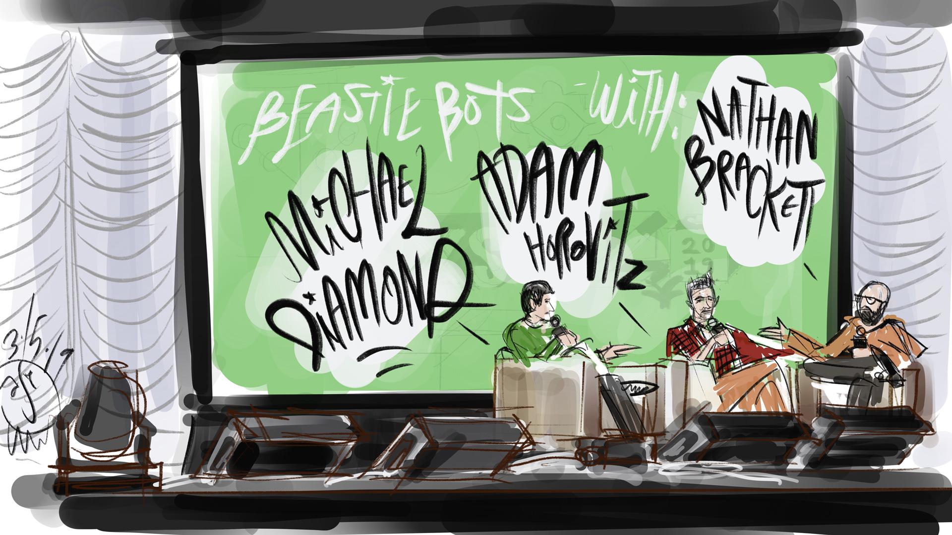 Beastie Boys Mike D and Adam Horovitz speak to Nathan Brackett at SXSW 2019
