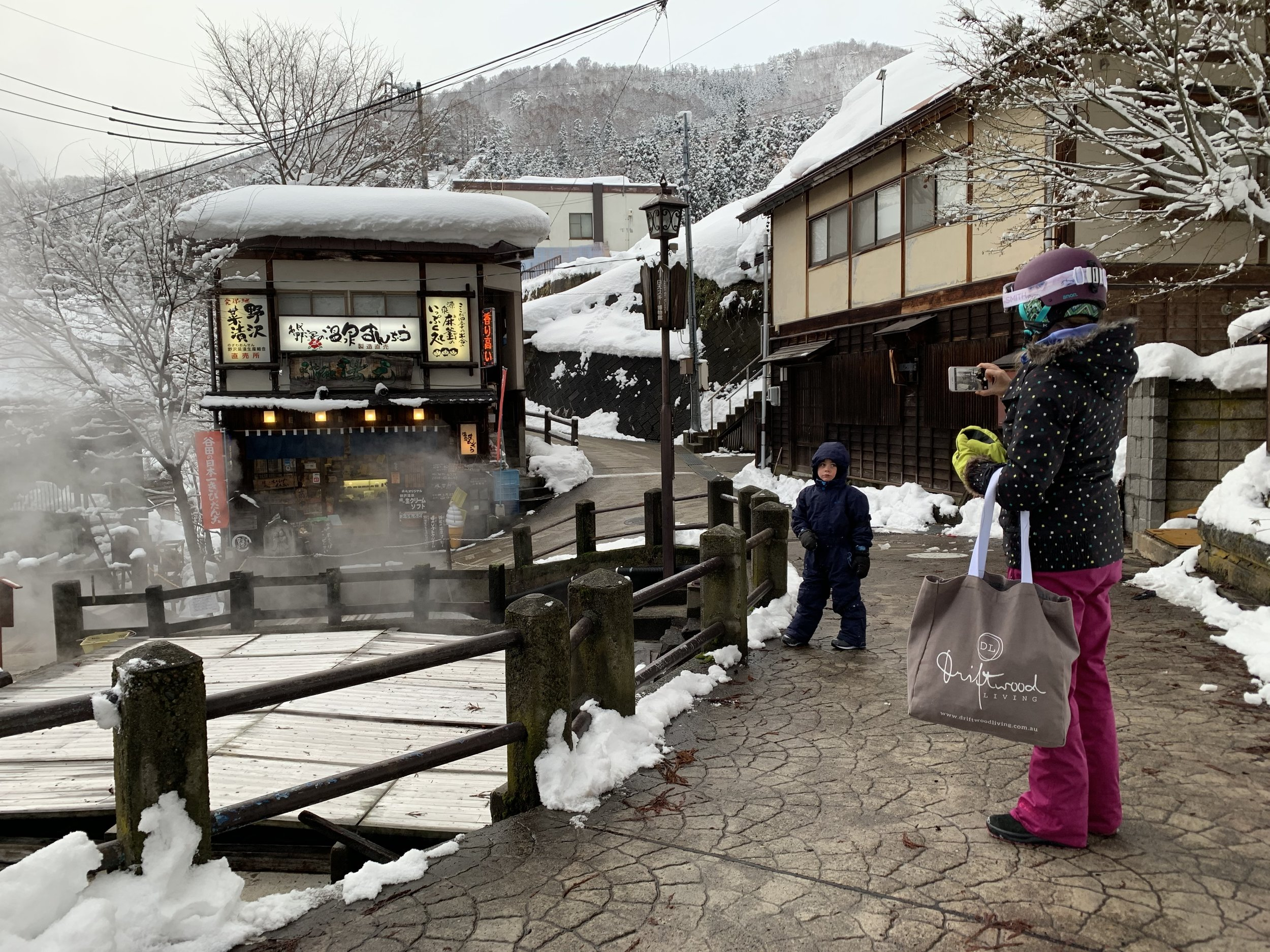 Family Winter Experiences in Nozawa Onsen