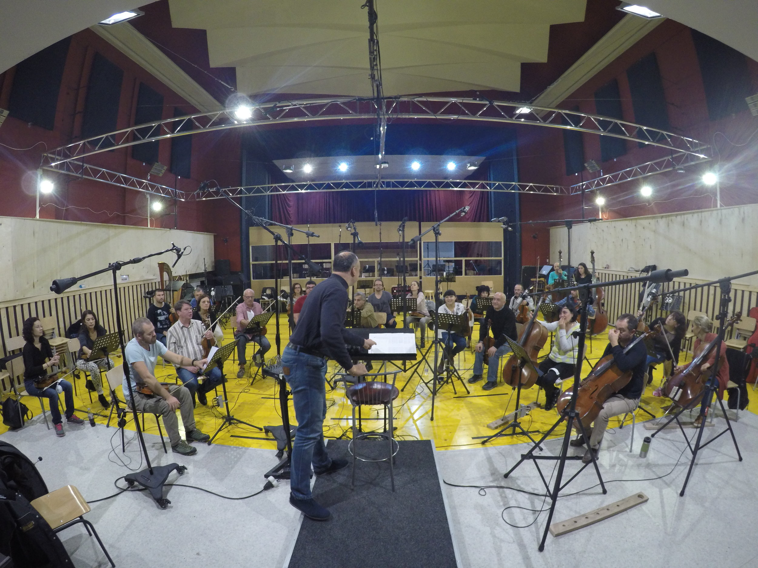 The Vitosha Philharmonic Orchestra, Sofia, Bulgaria - Conducted by Grigor Palikarov