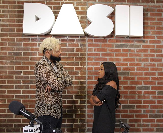 I'm sorry #Diddy but my STARE OFF with @elijahconnor was better than yours 😂  Shoutout to #ElijahConnor for coming through @southsidedash #Southside @dashradio and chopping it up with me today! We talked about #TheFour his #ViralMeme humble beginnings + MORE.... And did I mention that he's dropping his highly anticipated single #Reputation at MIDNIGHT!  Make sure to show him some love!!!!!! Full interview coming soon!!! Major shoutout to @iamphreshy 📸 @jaywilsonmedia