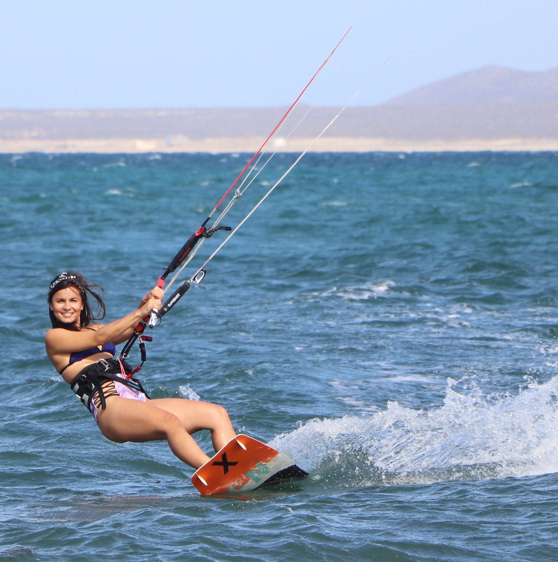 Bikini kiting is the best! - If you do have time to come during this time of the year, it is worth it and you'll realize how lucky you are to be here.