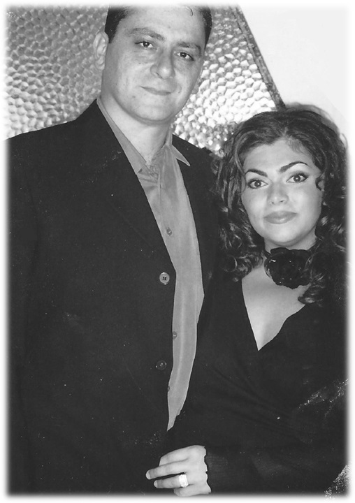 Georges and Joanne Black and white.jpg