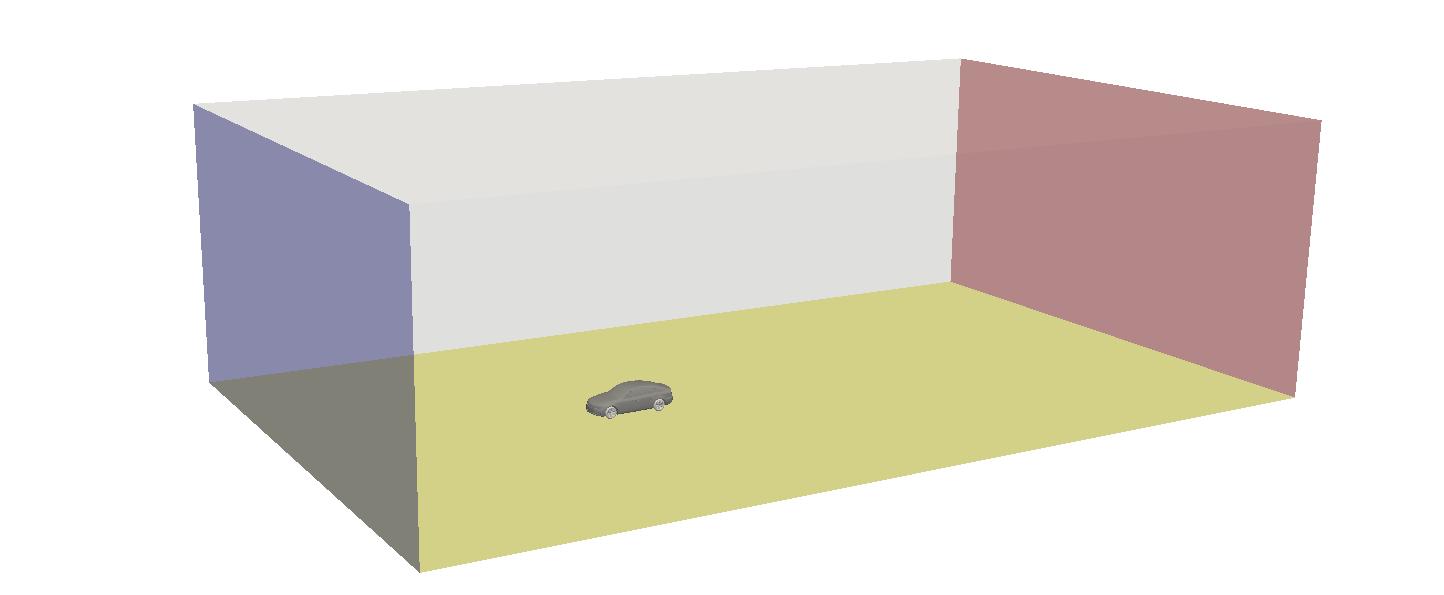 numerical wind tunnel setup for measuring drag lift car automotive computational fluid dynamics CFD