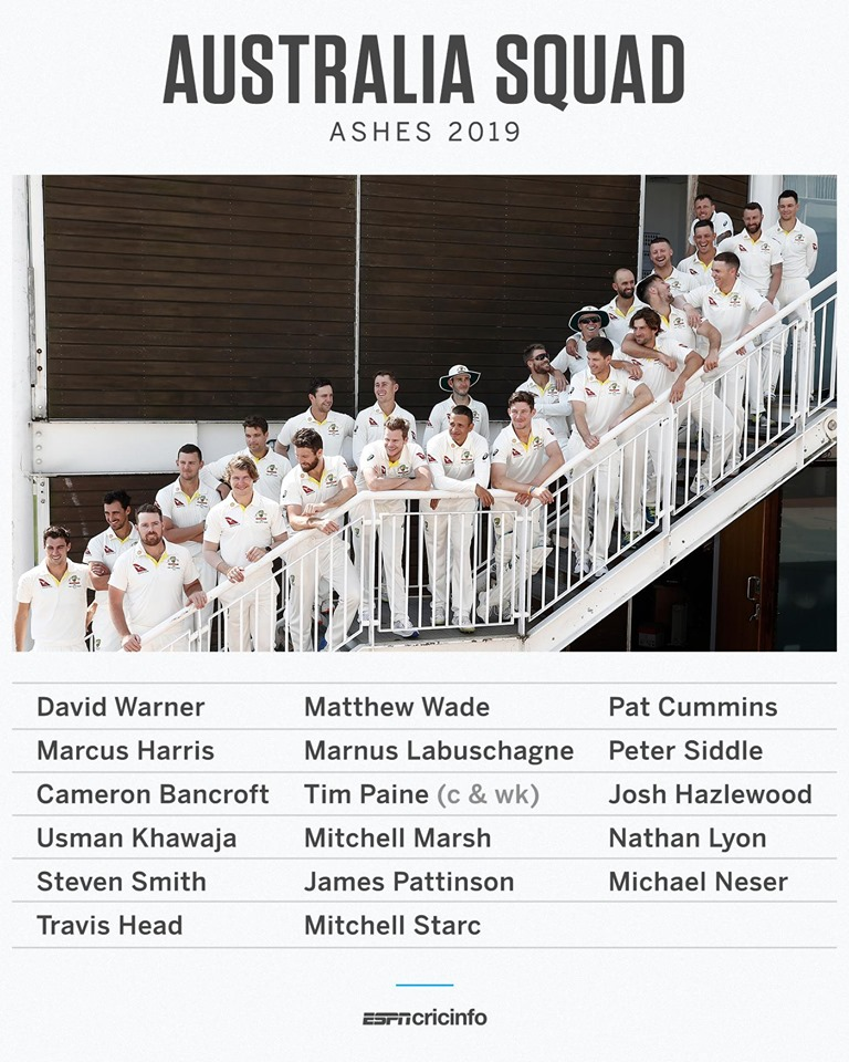 The official 2019 Ashes Squad - Aaron names his eleven and checks in with the punters for their selections.