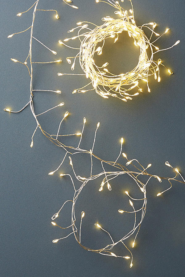 Ivy glow string lights