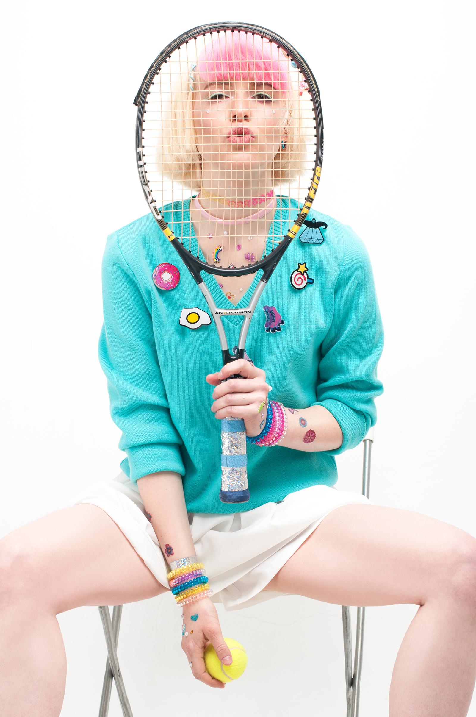 Sweater: #LenaGolova Shorts: H&M Chokers: Accessorize and #LenaGolova