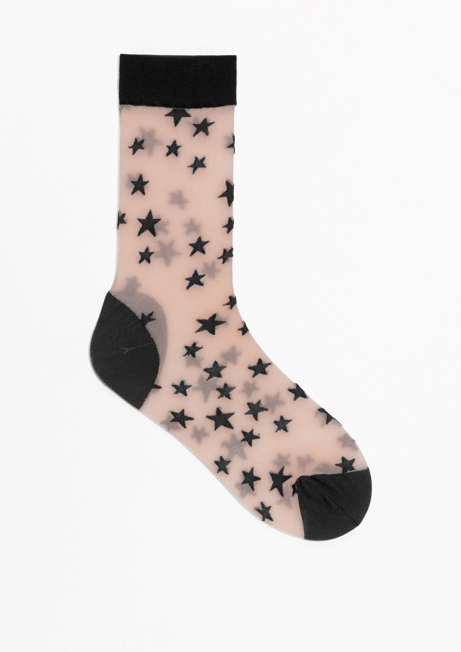- Sheer star socks, £6, & Other Stories