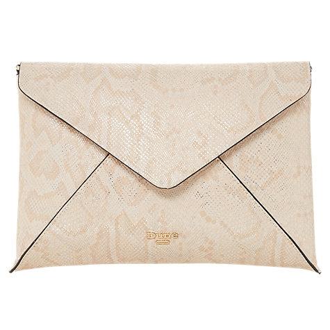 Clutch bag, £40,   DUNE