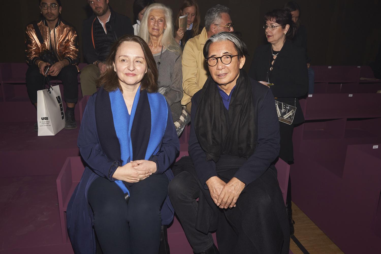 Sylvie Colin and Kenzo Takada