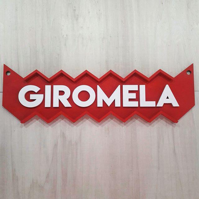 Signalétique pour l'agence évènementielle Giromela