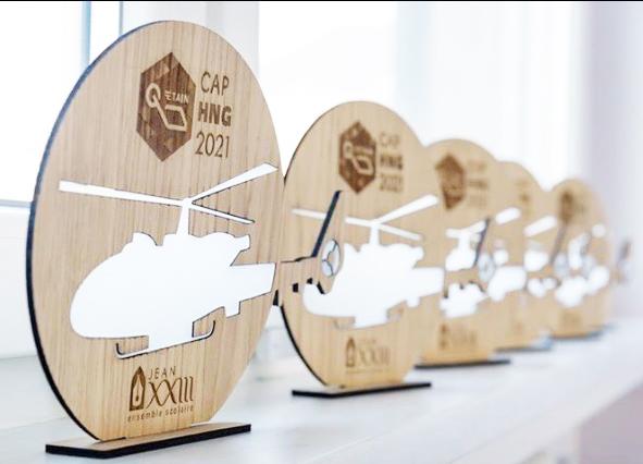 Trophées CAP HNG et l'école Jean XXIII de Metz