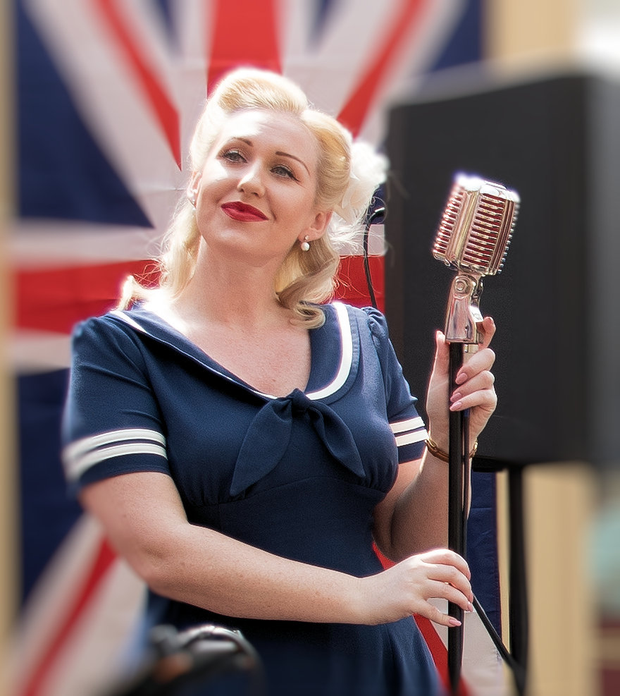 1940's weekend music photography