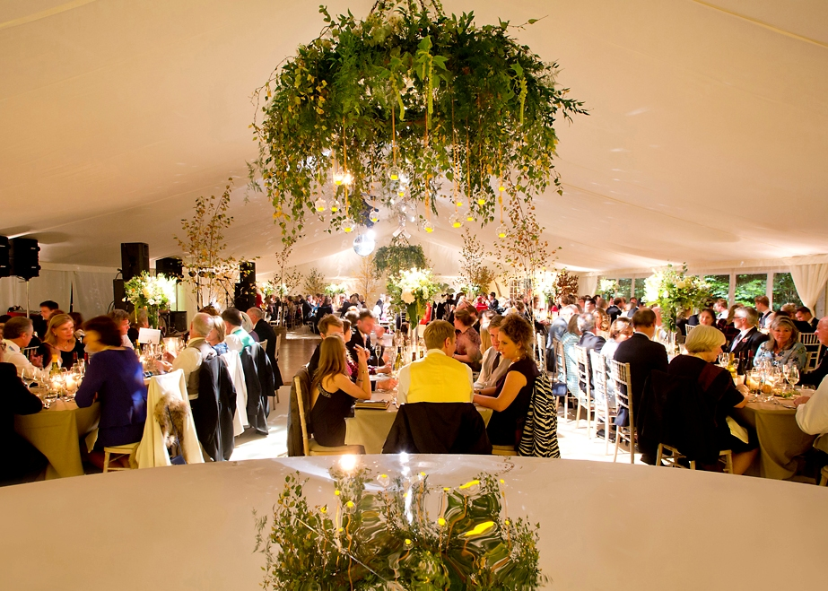 Marquee wedding and party hire Hampshire.