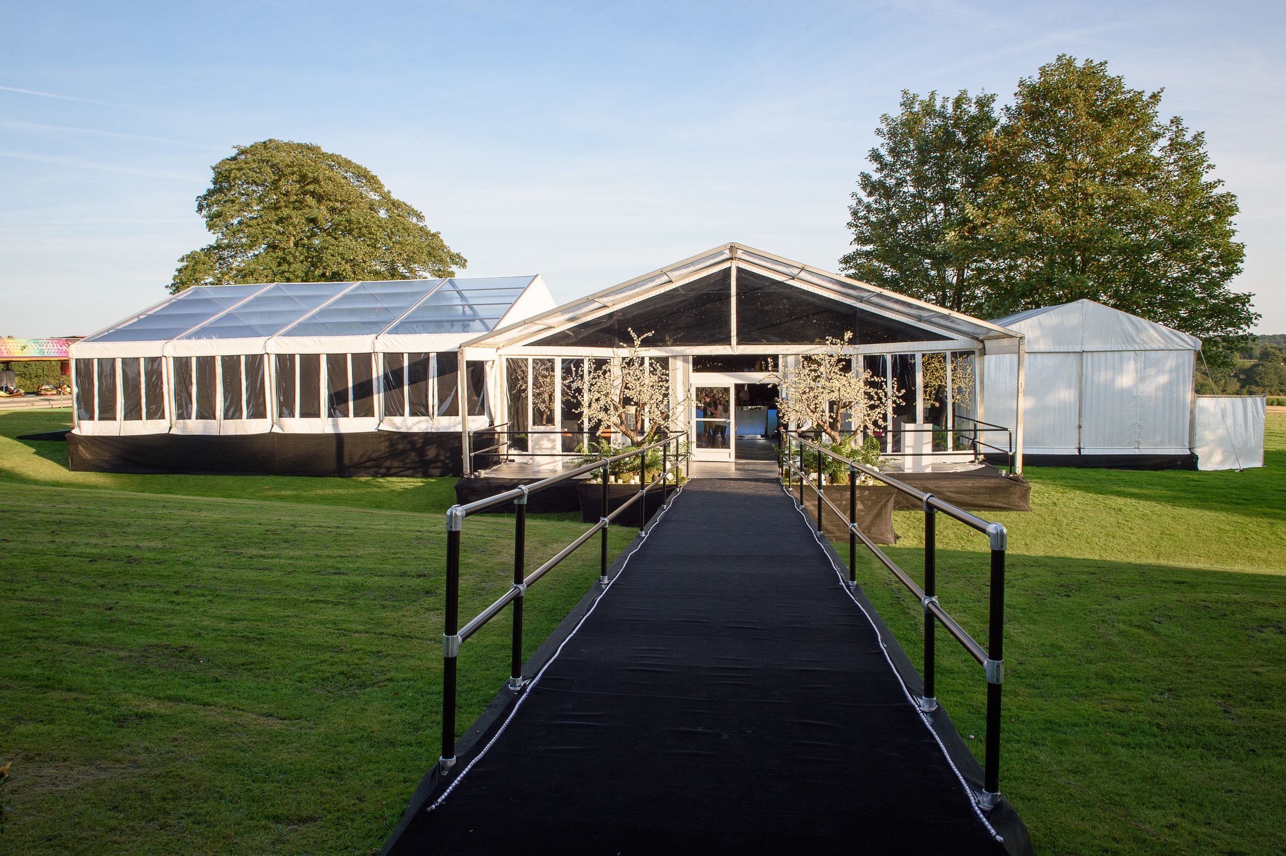Party marquee Hampshire