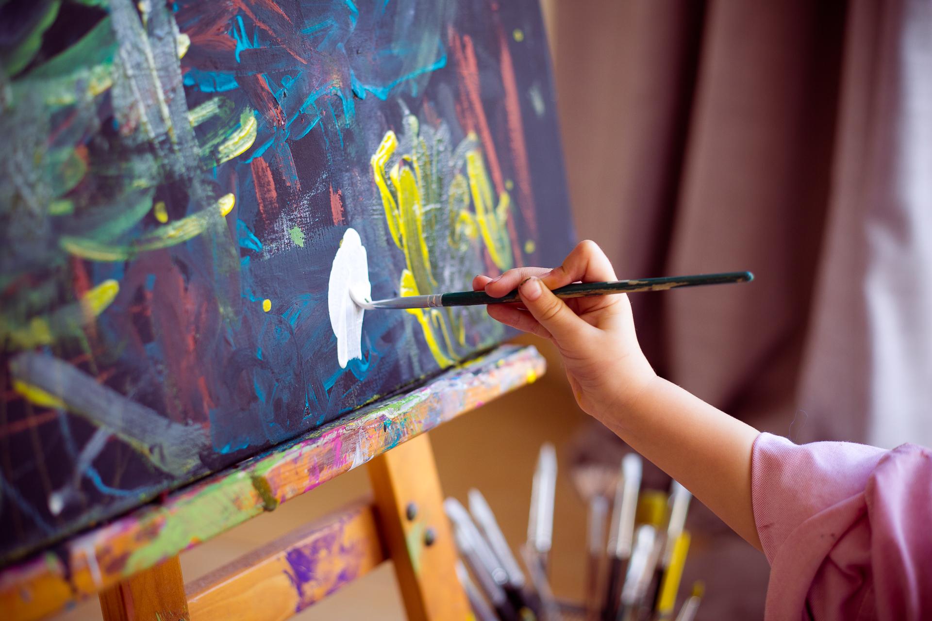 L'art a toujours eu une place importante dans ma vie ! -