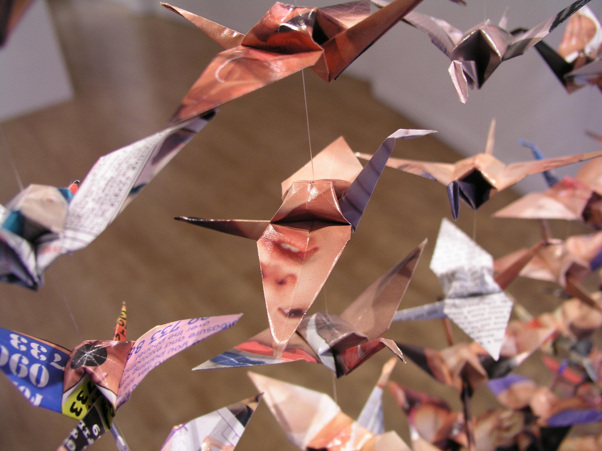 1001 cranes detail.JPG