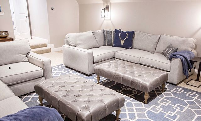 Love how this media room turned out, my client wanted a room that could be used for both Movie watching and conversation with friends. Using sectionals instead of theater chairs gave us that flexibility. . . . . . #dallasinteriordesigner #dallastx #dallasartdistrict #dallasdesigndistrict #dallasdesigner #dallasrealtor #dallashomes #homestaging #contemporarydesign #modernhome #designlovers #colleyville #grapevinetx #flowermound #southlaketx #instagramtexas  #lightingdecor #homeaccessories #homedetails #homedetail #dallasmarket #dallasmarketcenter #myhomevive #designerhome #dallaslife #hometrends #dfwrealstate #dallasrealstate  #theaterroom #mediaroom
