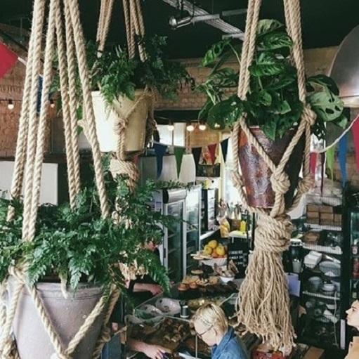 Macrame Jute Rope Hangers