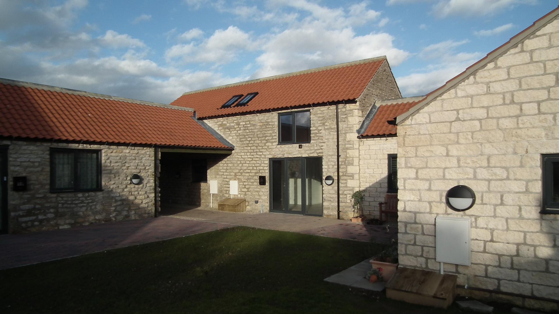 new dwelling - before below