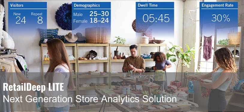 RetailDeep LITE uses facial recognition to help retailers better understand their in-store sales funnel