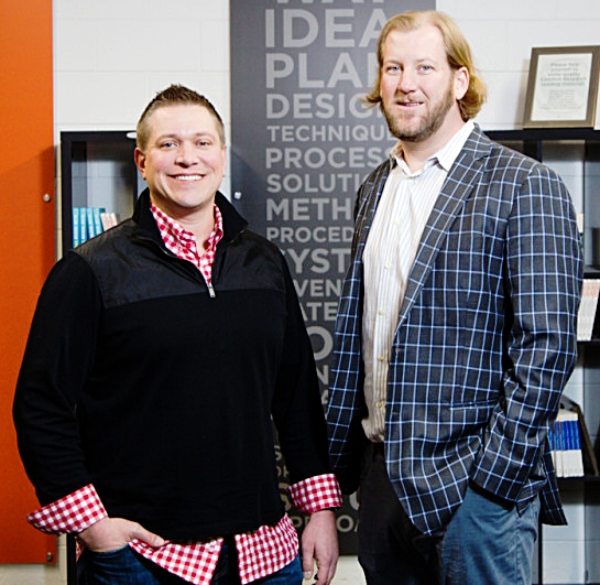 Matt Jung and Chip George, Founders of  Comfort Research   Photo Source: Comfort Research