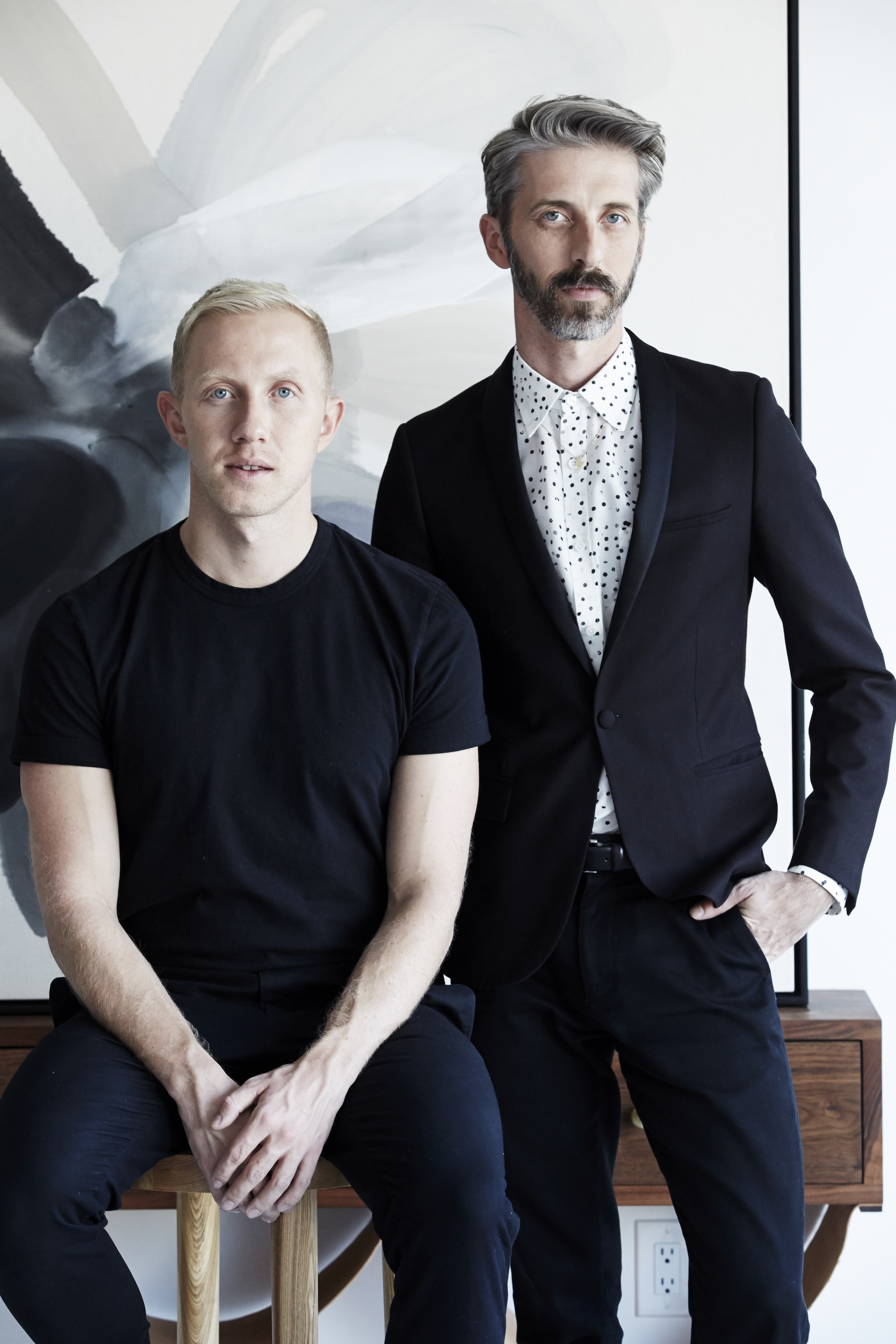 Brandon Quattrone and Mat Sanders, Co-Founders of the celebrity design firm,  Consort .