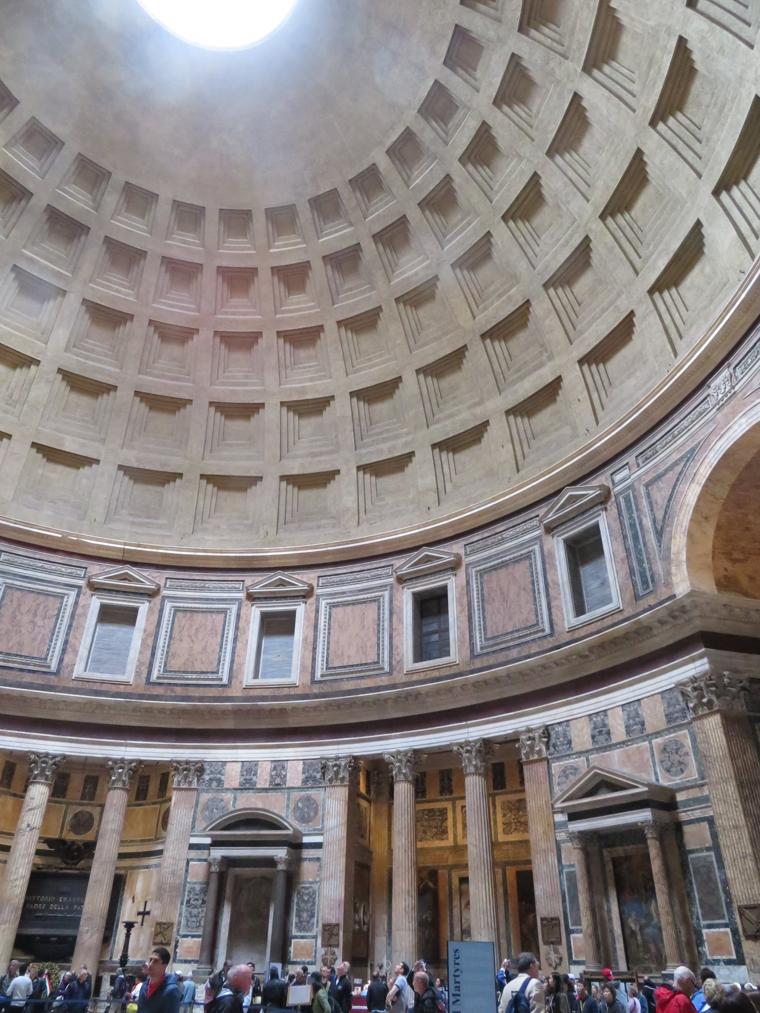From a recent trip to Italy, Dorothy captured the architectural wonder that is the coffered dome and central oculus of the Pantheon in Rome. Spoleto's Umbrian poppy fields, below.  Photo source: Willetts Design & Associates