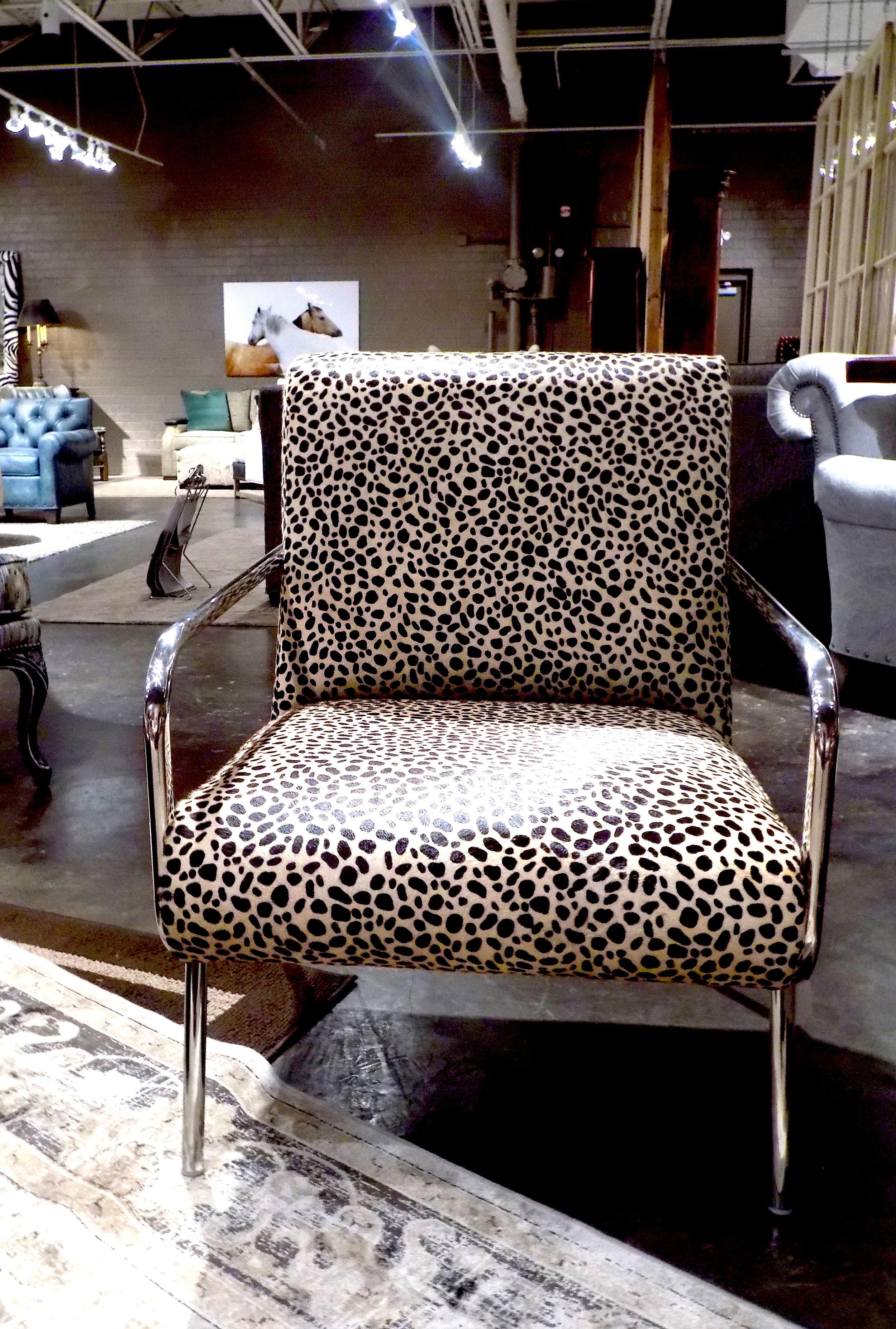 Woodrow Chair in Cheetah  Photo: The Design Daily