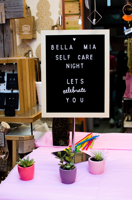 Lets Celebrate You! - We started 2019 by taking some time to recharge and refresh our mind, body and wardrobe! Bella Mia's first ever self care evening welcomed women in the community to participate alongside bella mia staff- who featured candlelit yoga, a detox smoothie demo, styling, and a mini photo shoot!