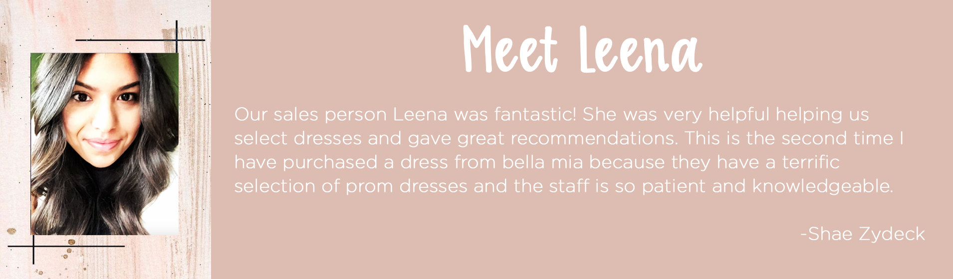 Review of Leena-our consultant