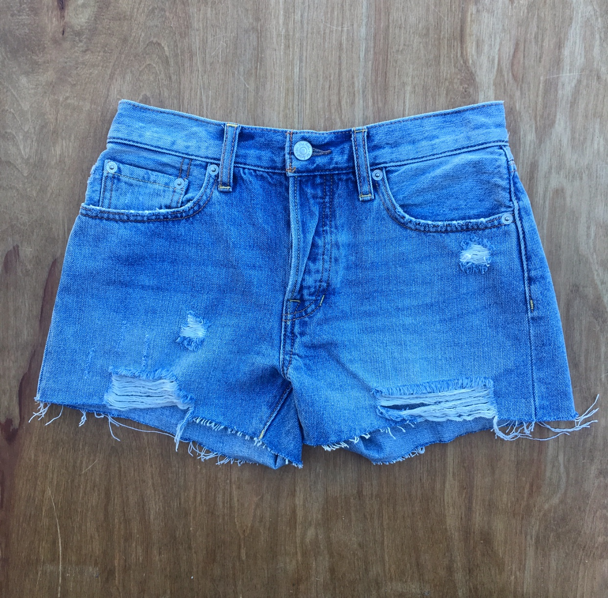 "#1 - First up, our Free People ""Wave"" Jean Shorts, are an absolute no brainer. You can never have too many jean shorts, and these comfy and casual shorts are perfect to throw on over a bathing suit, or dress up with a cute blouse for a night out!"