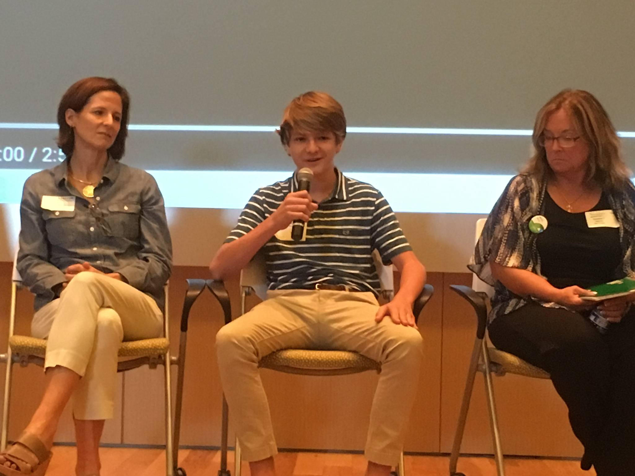 Speaking on the panel