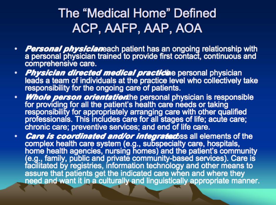 Typical medical conference slide