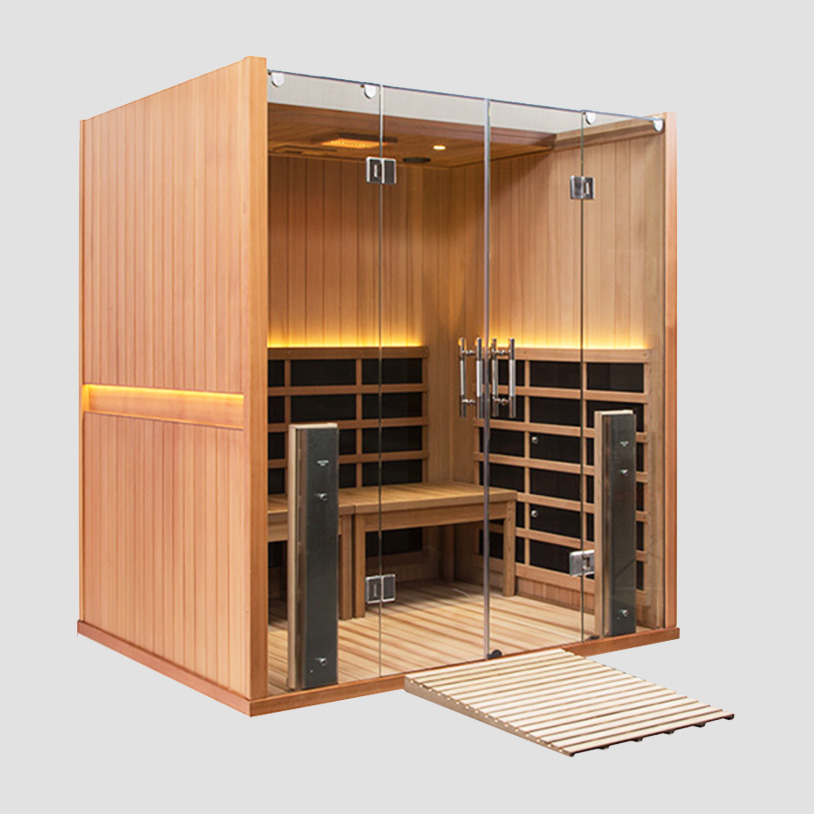 Full Spectrum Infrared Sauna - with Chromotherapy