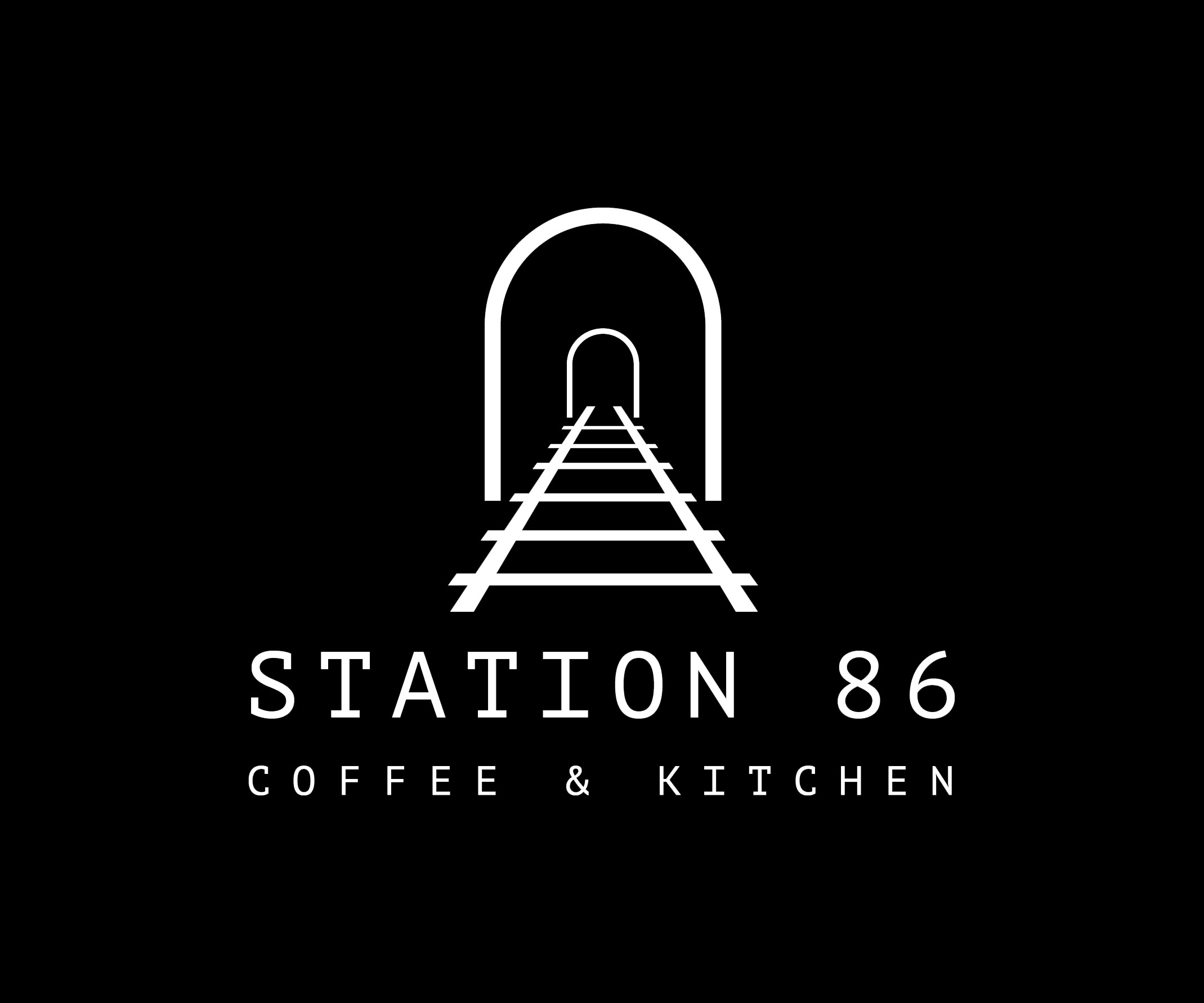 Station 86 Railway Logo White on Black.jpg