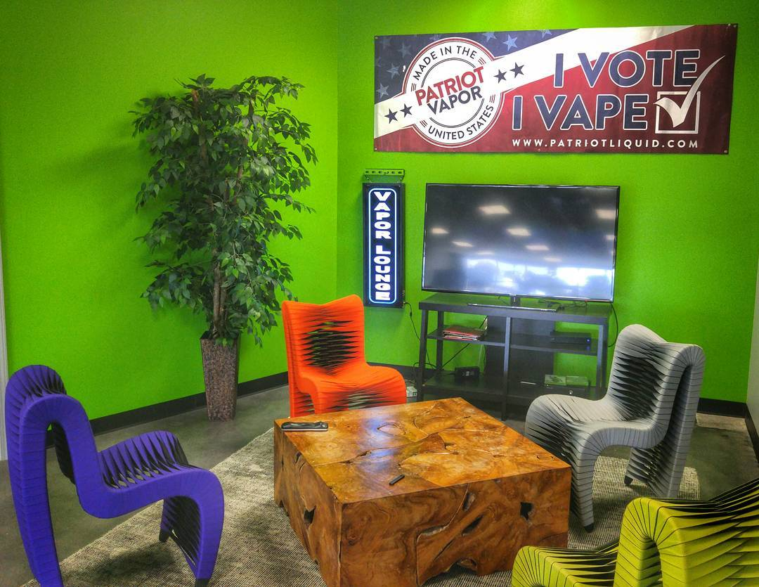 Our comfortable lounge at our Airport Rd location in South Asheville!