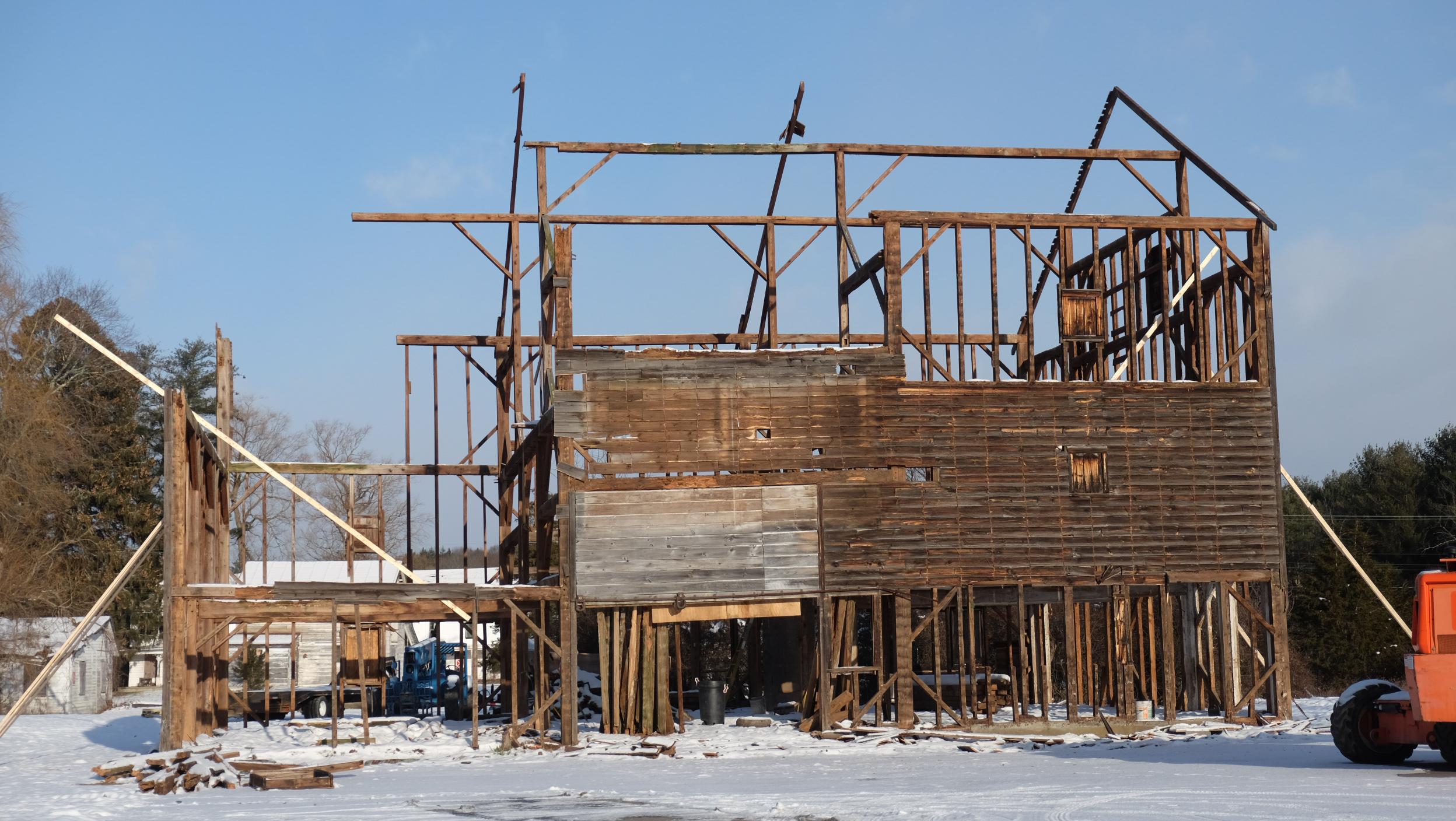 Dismantling the Barn -