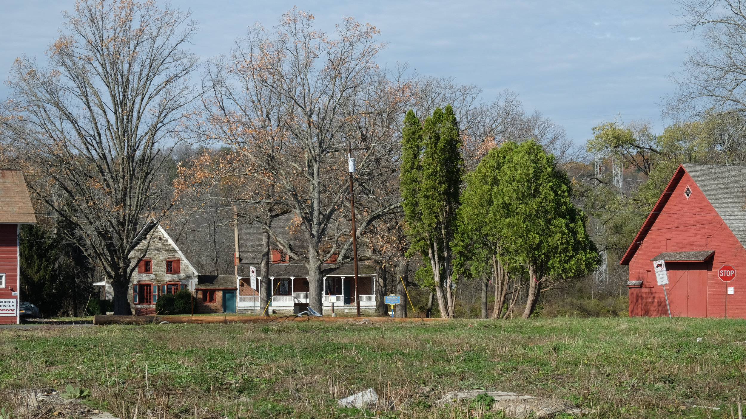 Once moved, the barn will stand in virtually the same location as a similar structure once owned by the Bronck Family in the 19th Century.