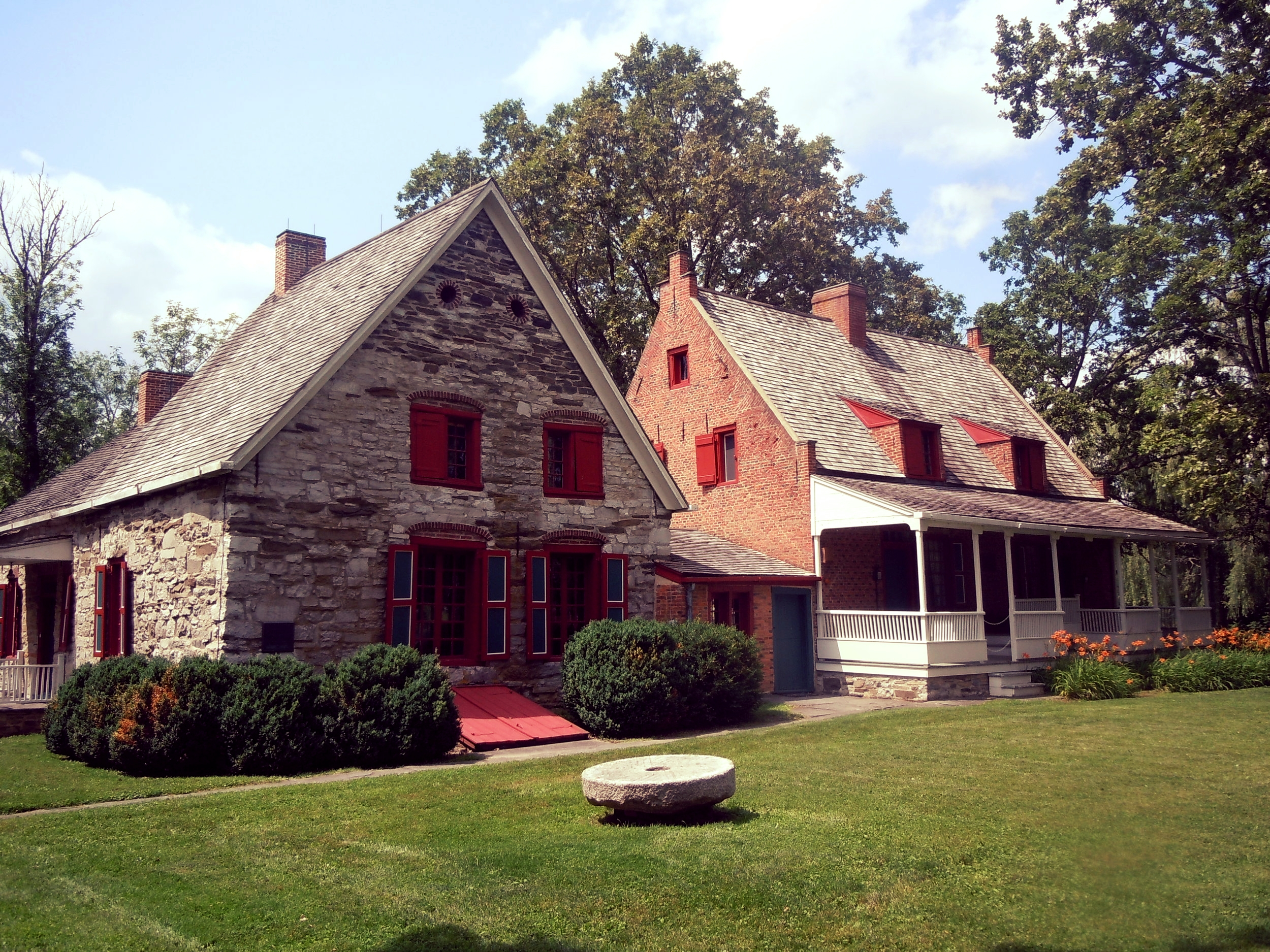 Bronck House Museum - The oldest home in Upstate New York and headquarters of GCHS is open for tours annually May - October.
