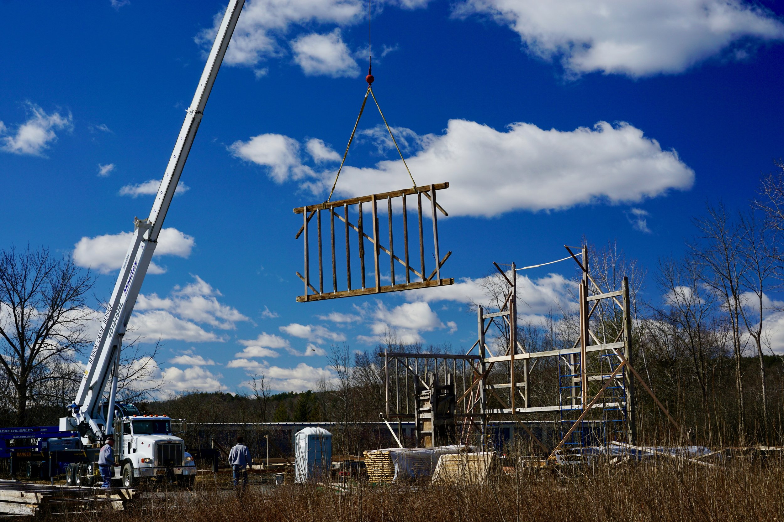 Raising the Frame Day one (3/18/19) -