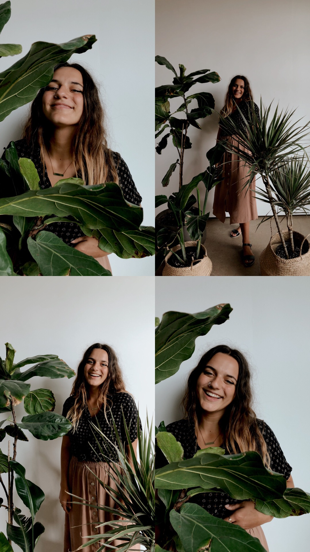 go crazy with the plants! We have so many in Studio I & II, so take advantage. Result? (Feeling like you're in a botanical garden) - tip no.3
