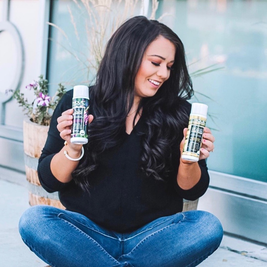 """""""I've been using @thiquehaircare for a couple weeks now and I absolutely love it!""""  SHANNON F."""