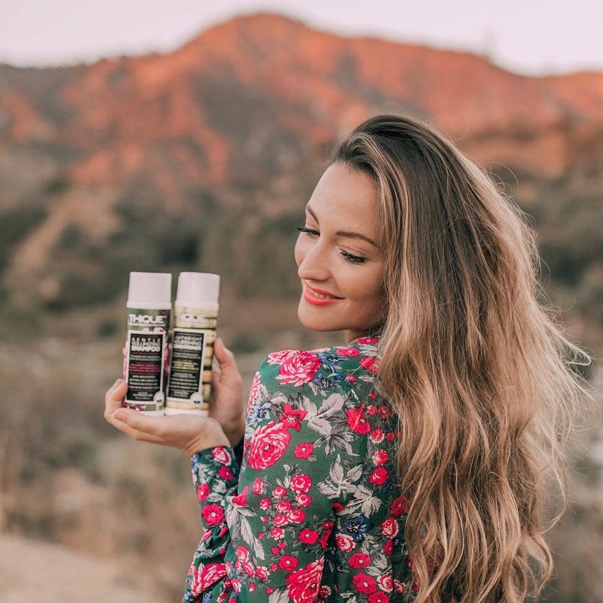 """""""You should check them out if you are worried about hair loss or wanting thicker hair.""""  STEFANIE R."""