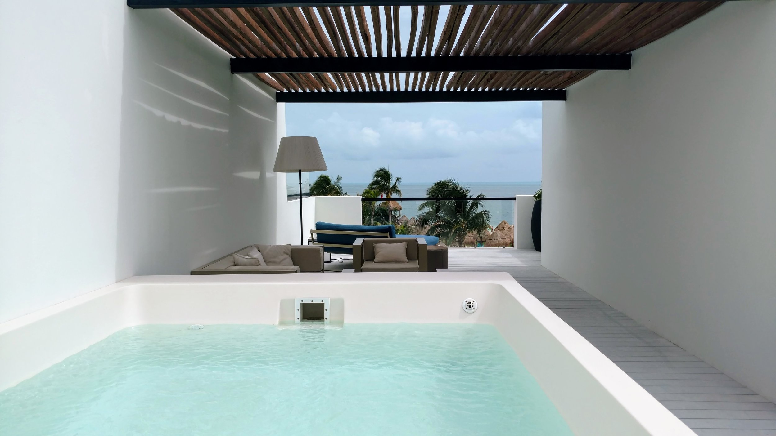 Two-Story Rooftop Villa with Plunge Pool