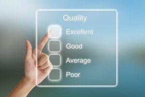 A quality assurance checklist