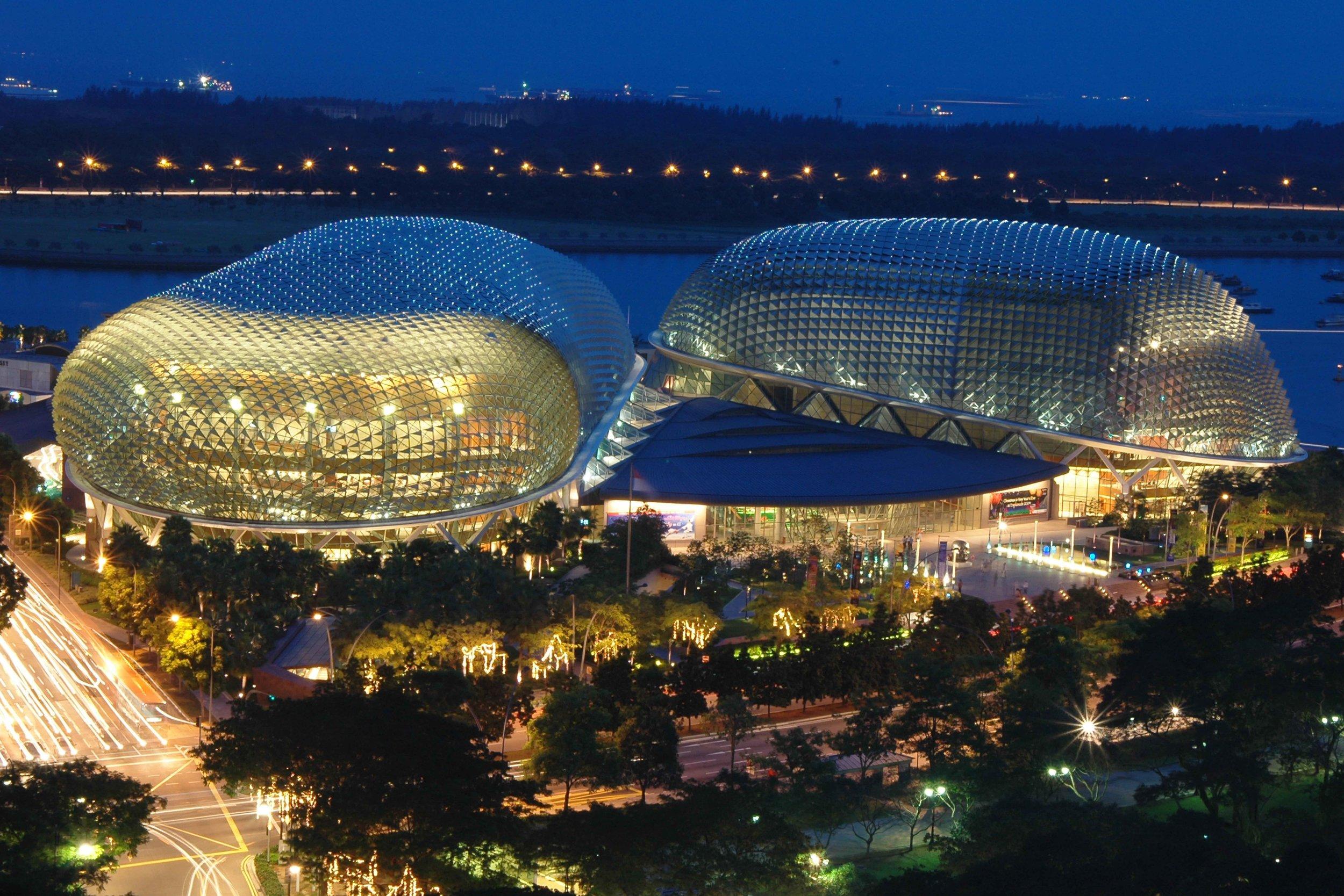 6: Esplanade Theatres - One of world's busiest art centres