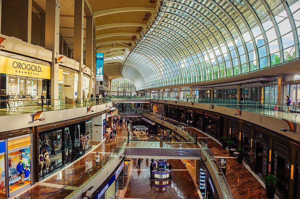 3. The Shoppes at Marina Bay Sands