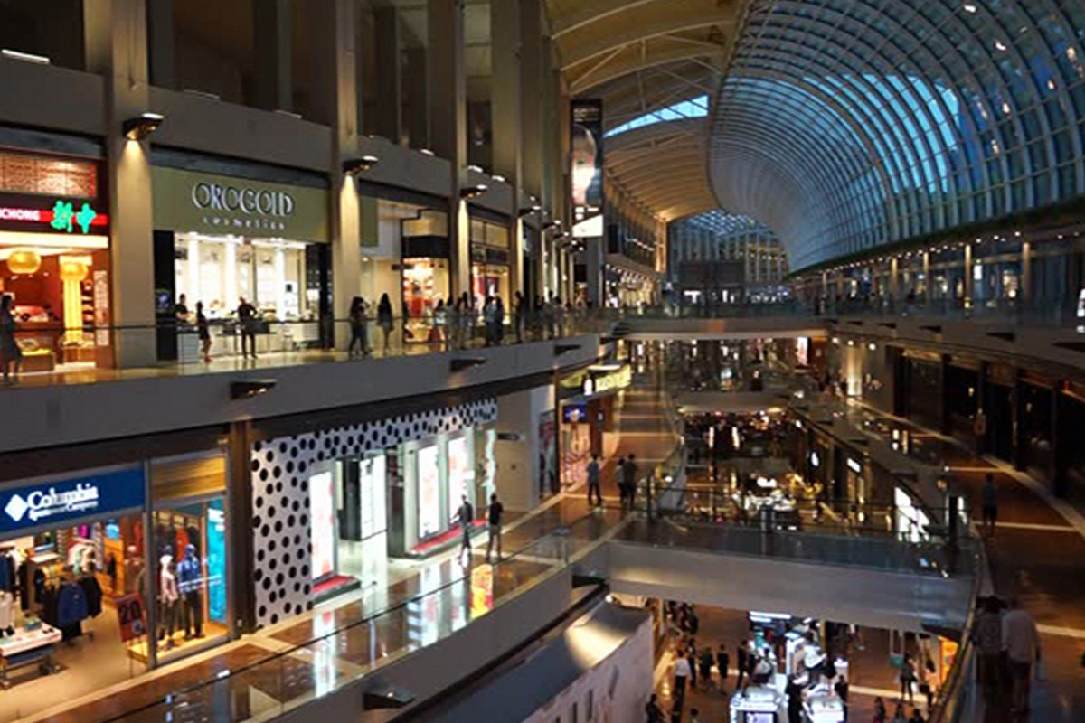 3: The Shoppes at Marina Bay Sands