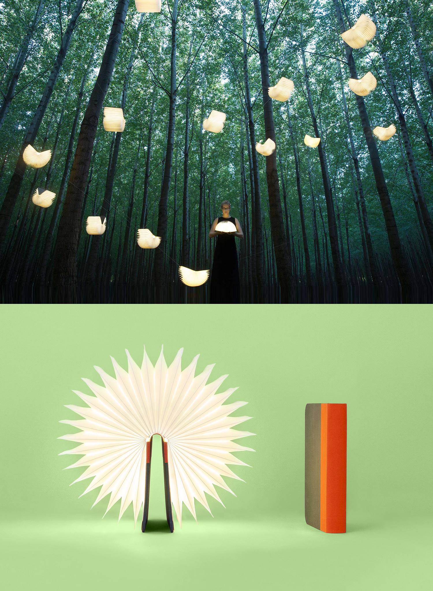 Curator: a simple design with a disportionate wow factor. nobody picks this up and fail to smile with wonderment. - The lamp is the creation of Indonesian born, San Francisco based Architect Max Gunawan. It was launched at Kickstarter with a phenomenon success and subsequently won a Red Dot Award.